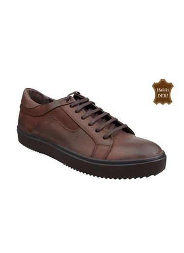 Wolfland Bağcıklı Ayakkabı Kahve